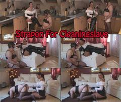 Strap-on For Cleaningslave